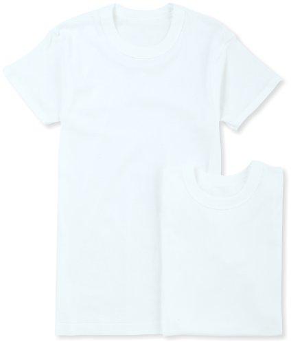 (グンゼ)GUNZE インナーシャツ やわらか肌着 綿100% 抗菌防臭加工 半袖丸首 2枚組 SV61142 03 ホワイト L