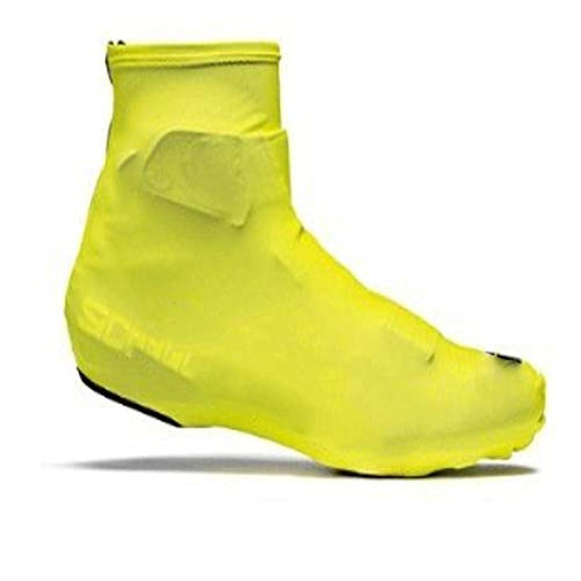 イブ書く気球サイクル防水オーバーシューズ、アウトドアサイクリングハイキング暖かい防風靴カバー雨雪ブーツプロテクター足ゲイターブラック (Color : Yellow, Size : EU-40)