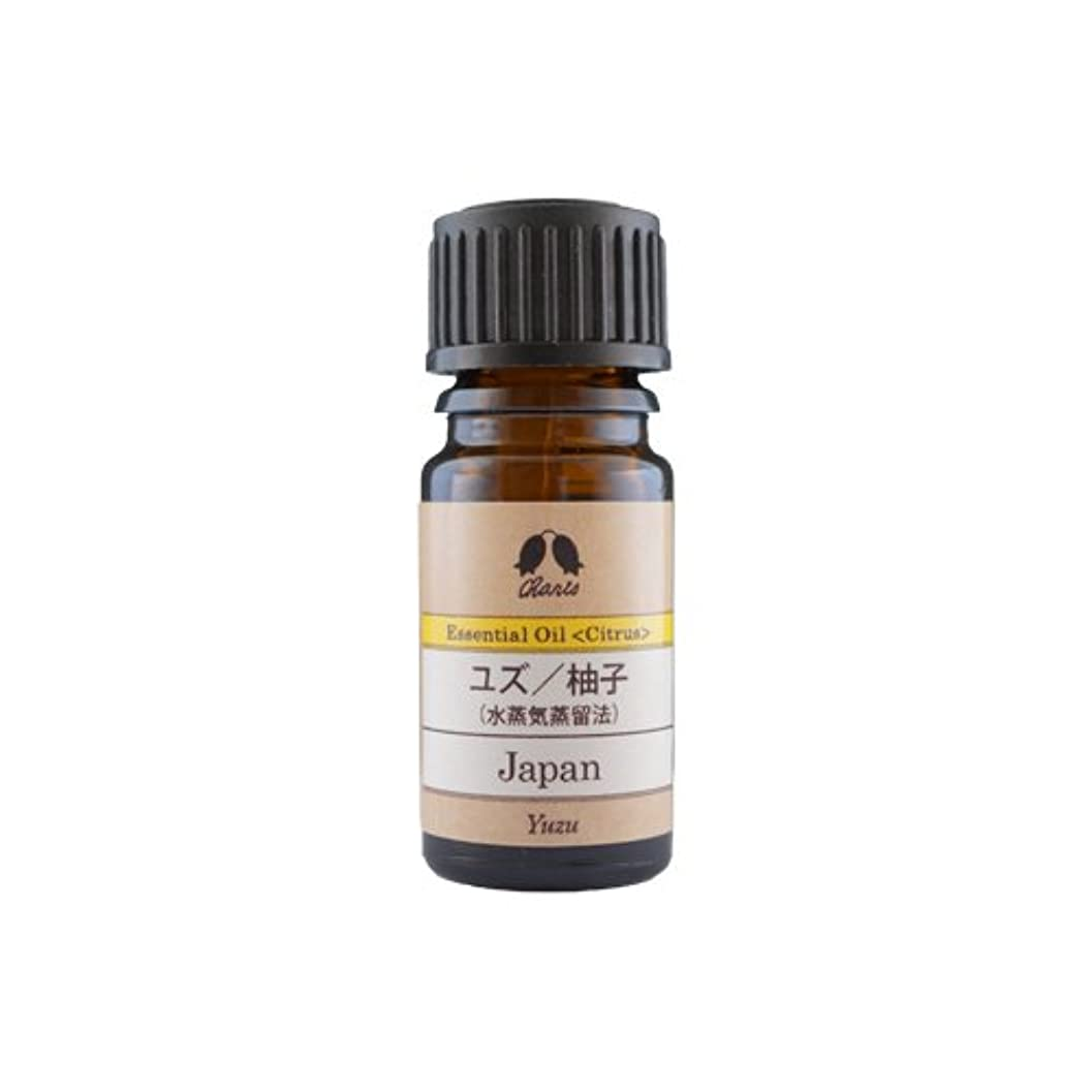 探検パンチ動カリス ユズ(水蒸気蒸留法) オイル 5ml