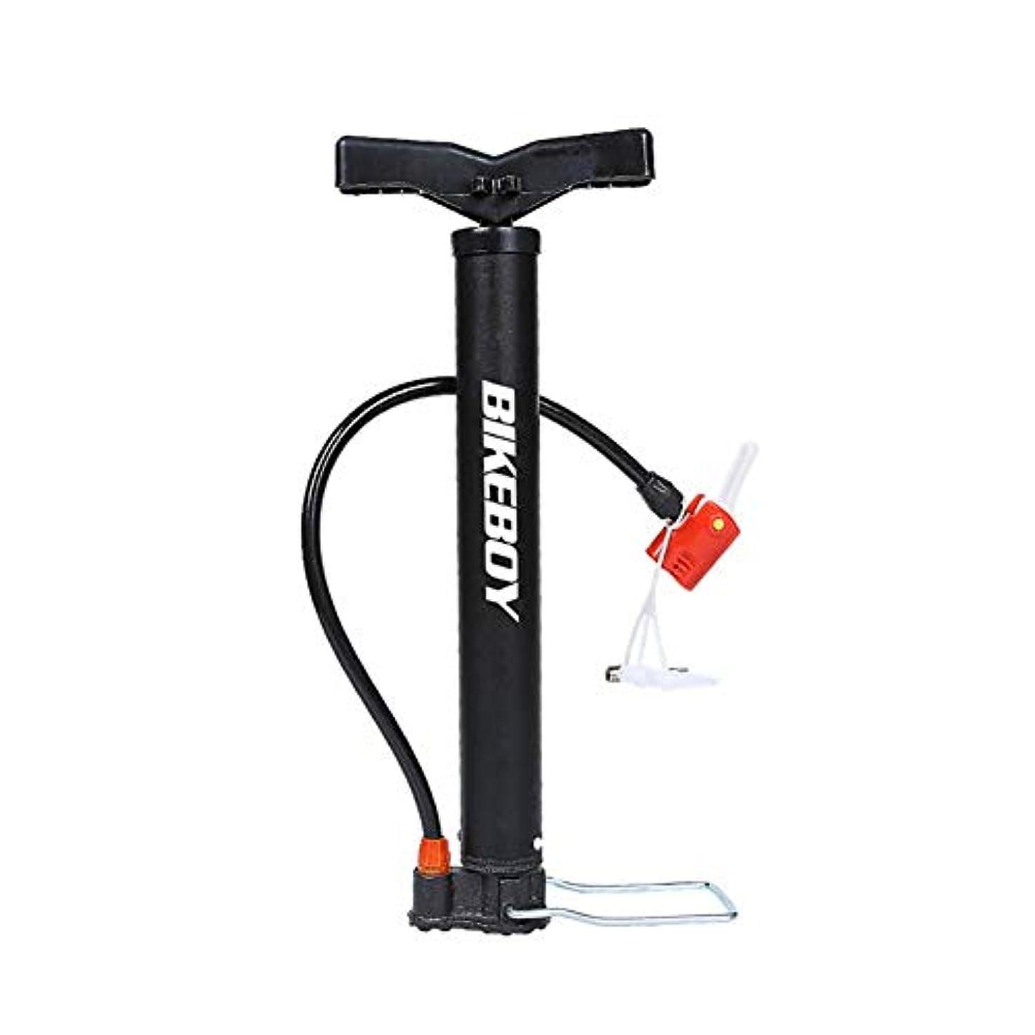 線残り物舌なオートバイ、電気自動車、マウンテンバイクのための携帯用高圧自転車ポンプ、丈夫な耐久財、高圧信頼できる縦の空気ポンプ、