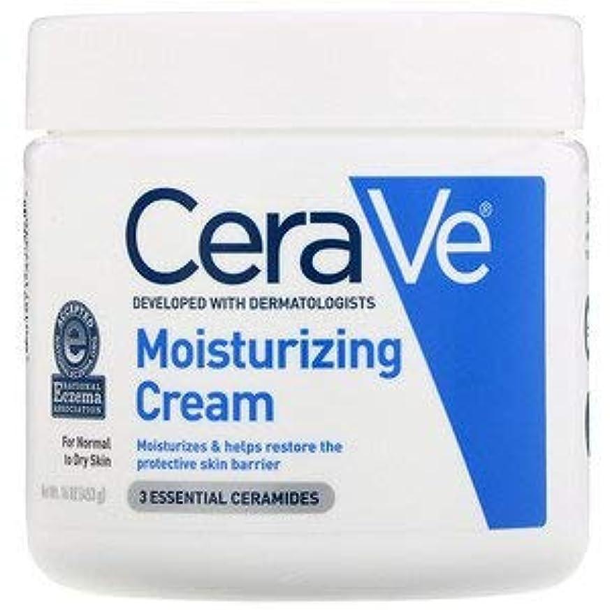 歌出します再生可能並行輸入品Cerave Cerave Moisturizing Cream, 16 ozX 3パック