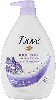 Dove Go Fresh Relaxing Lavender Paraben-Free Body Wash, 1L