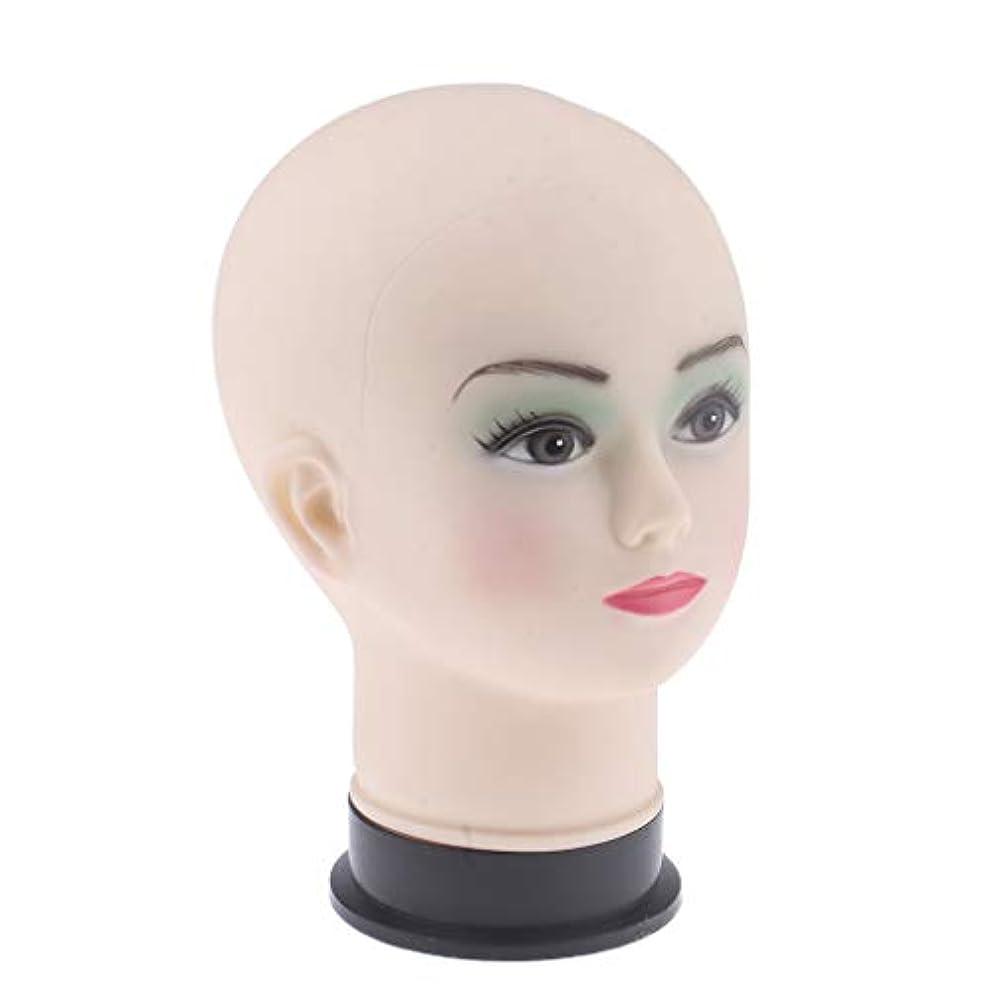 Perfeclan マネキンヘッド ディスプレイ ヘッドモデル メイクトレーニング 化粧練習 帽子 かつら 展示