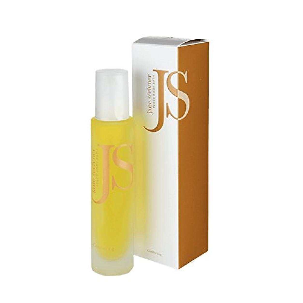 嫉妬十分ですスポンジJane Scrivner Body Bath Oil Peace 100ml (Pack of 6) - ジェーンScrivnerボディバスオイル平和100ミリリットル (x6) [並行輸入品]