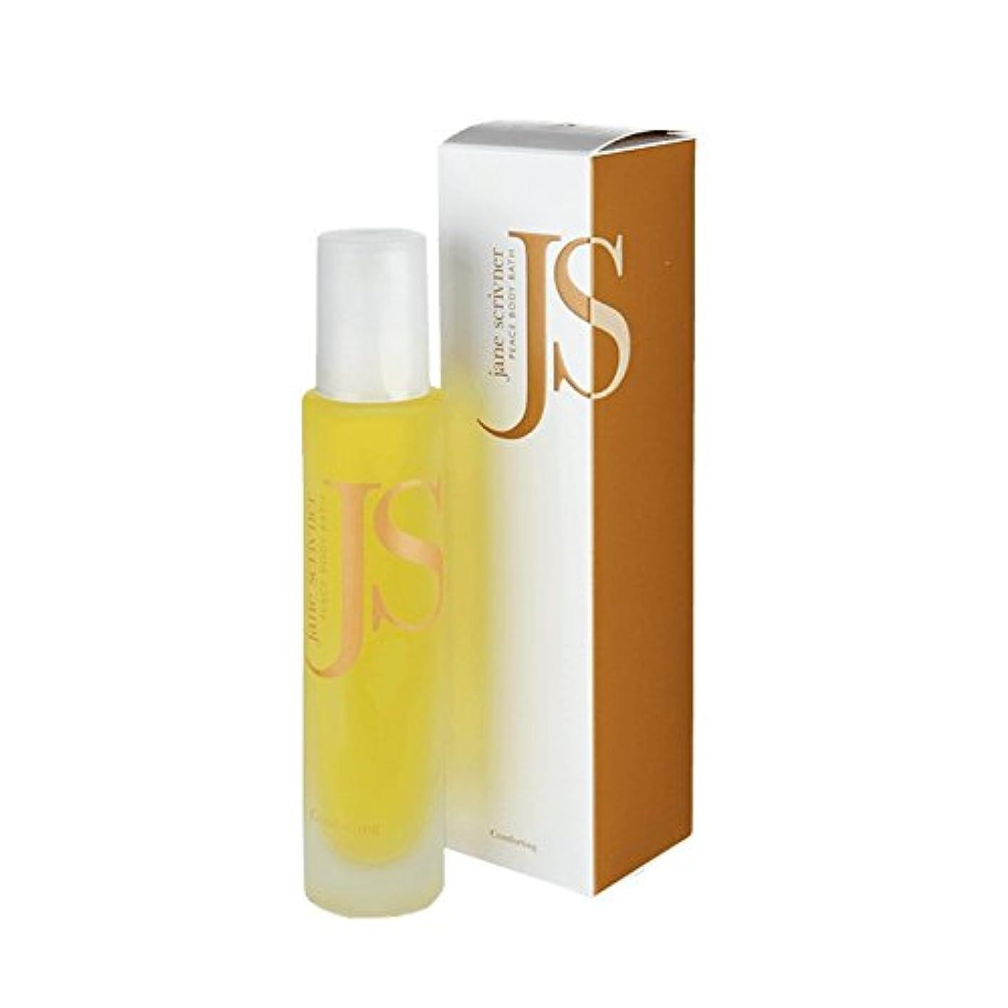 願望信念姿を消すJane Scrivner Body Bath Oil Peace 100ml (Pack of 6) - ジェーンScrivnerボディバスオイル平和100ミリリットル (x6) [並行輸入品]