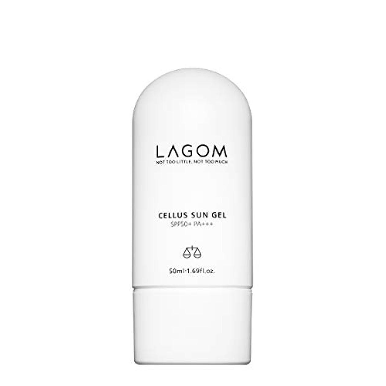 環境に優しい先に変数LAGOM(ラゴム) ラゴム サンジェル 50ml (日焼け止め乳液) SPF50+/PA+++ 日本正規品