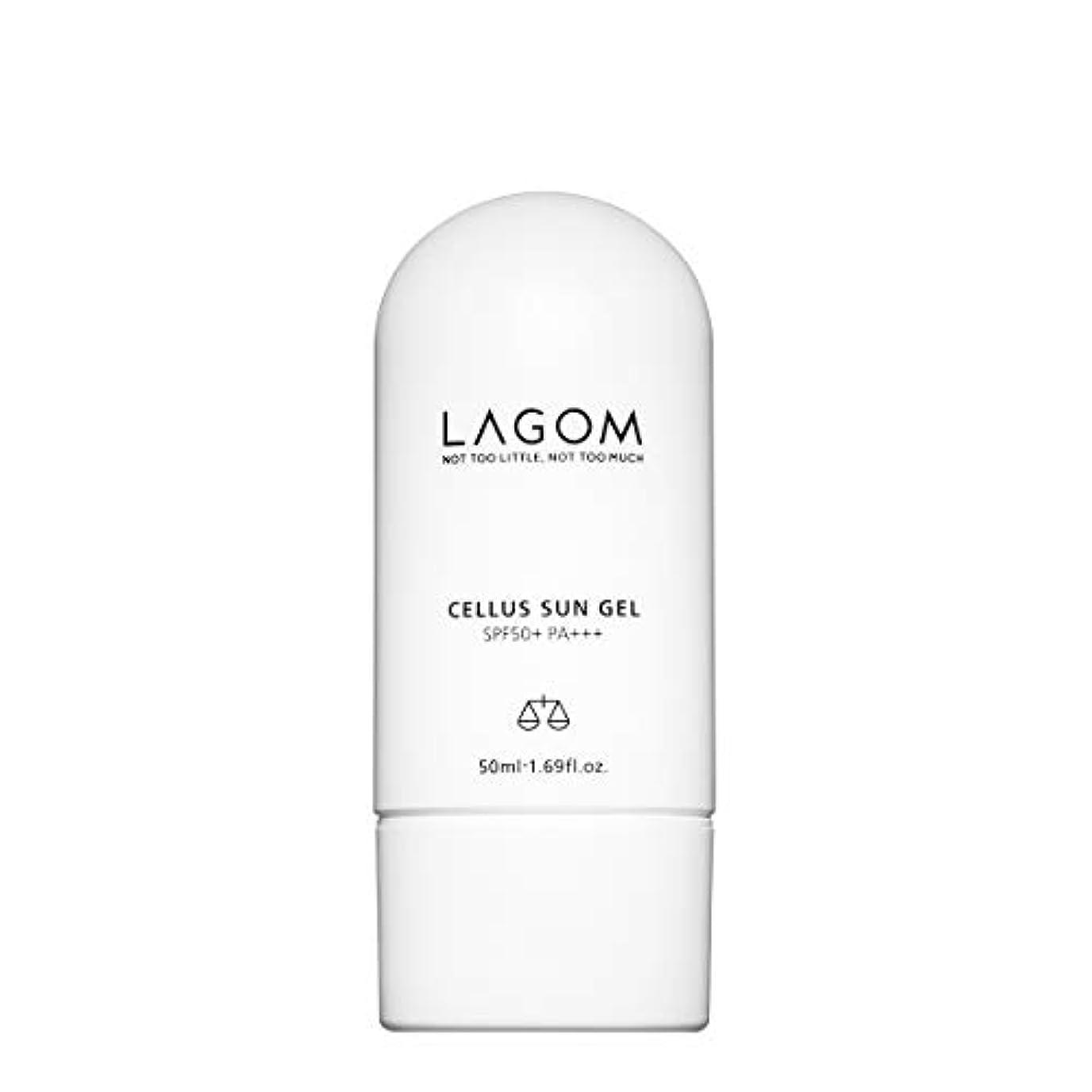 トピック混雑スプーンLAGOM(ラゴム) ラゴム サンジェル 50ml (日焼け止め乳液) SPF50+/PA+++ 日本正規品