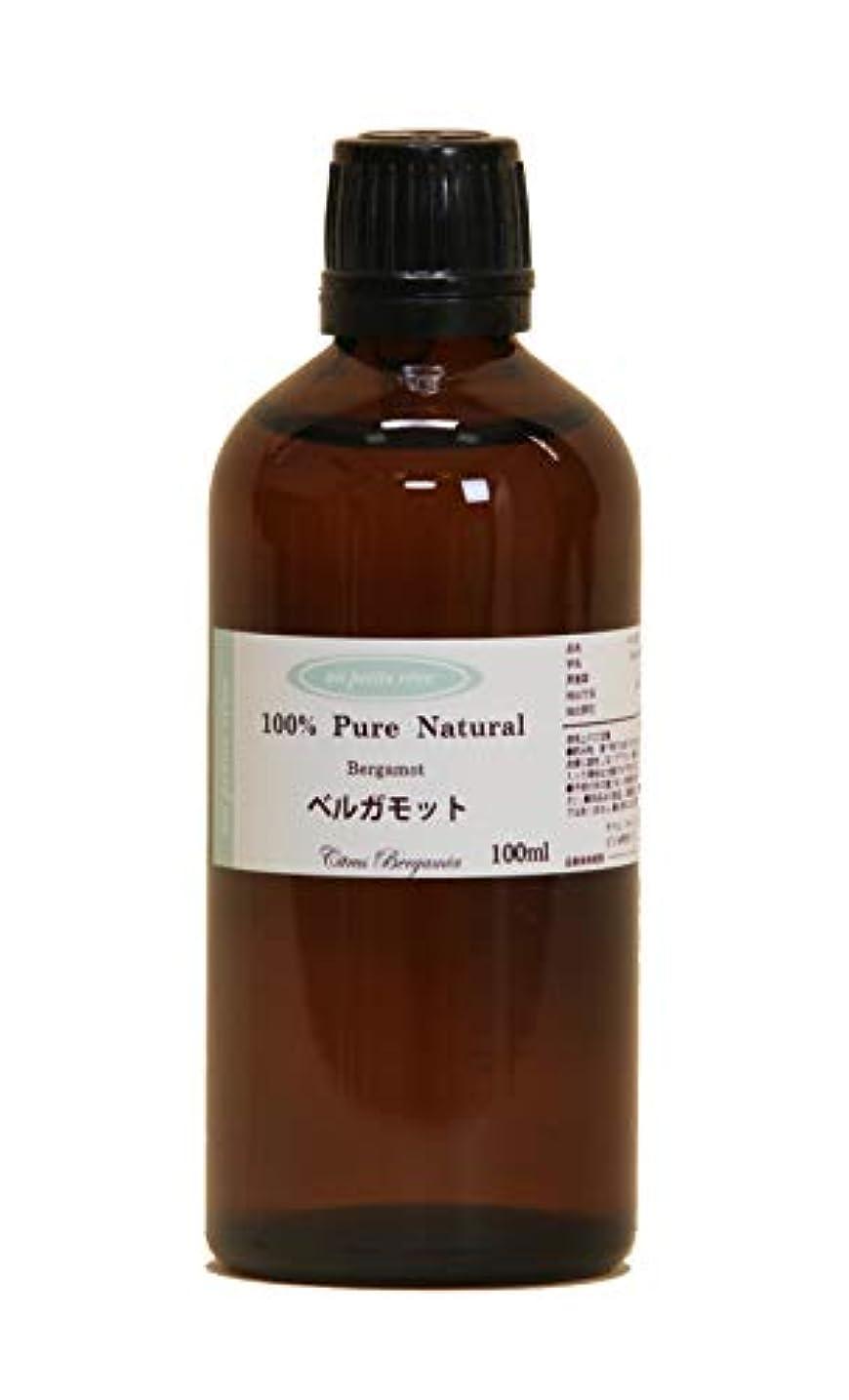 刑務所大脳不快なベルガモット 100ml 100%天然アロマエッセンシャルオイル(精油)