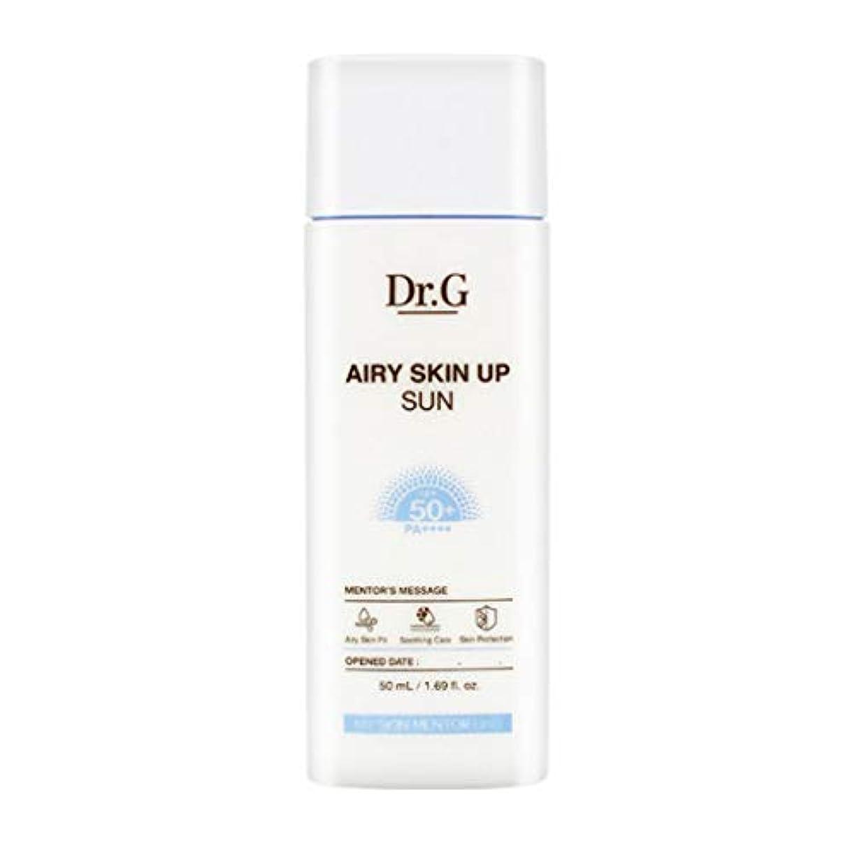 脅威生産性鼓舞するDr.G ドクタージー Airy Skin Up Sun エアリースキンアップサン (50ml) SPF50+ PA++++ Dr G DrG 日焼け止め