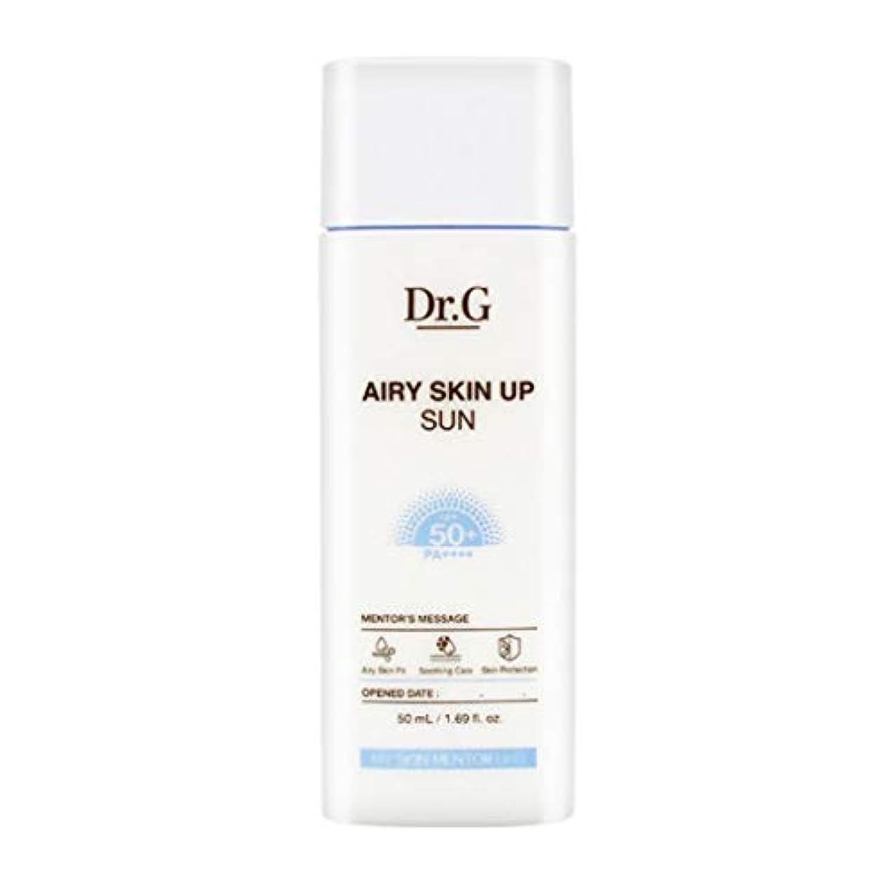 細菌スポーツマンポスト印象派Dr.G ドクタージー Airy Skin Up Sun エアリースキンアップサン (50ml) SPF50+ PA++++ Dr G DrG 日焼け止め