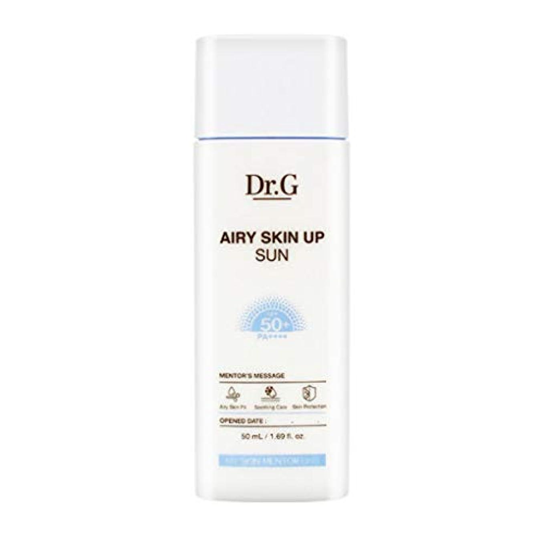 事件、出来事徹底的に注ぎますDr.G ドクタージー Airy Skin Up Sun エアリースキンアップサン (50ml) SPF50+ PA++++ Dr G DrG 日焼け止め
