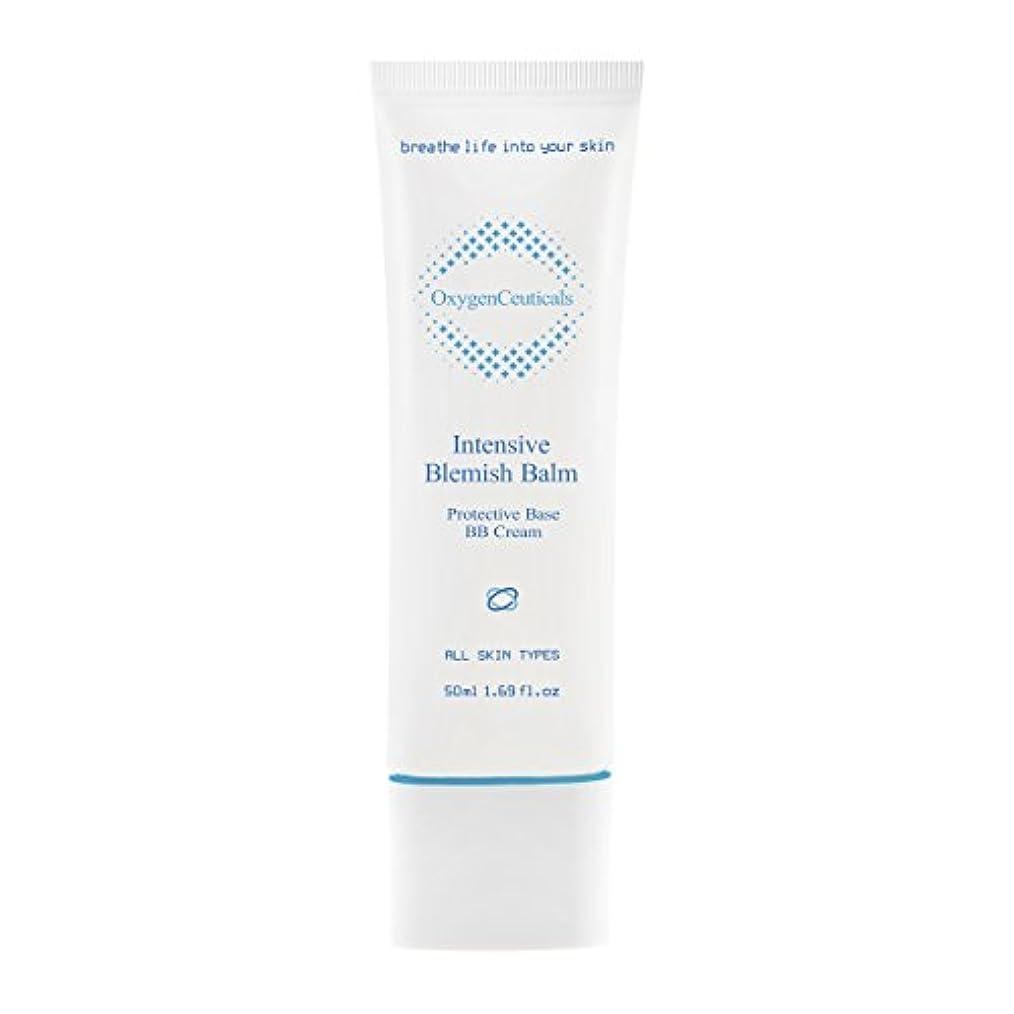 [ Oxygen Ceuticals ] オキシジェンシューティカルズ 酸素BBクリーム[再.生BB] 50ml. Intensive Blemish Balm(BB Cream) 50ml. X Mask Pack 1p.
