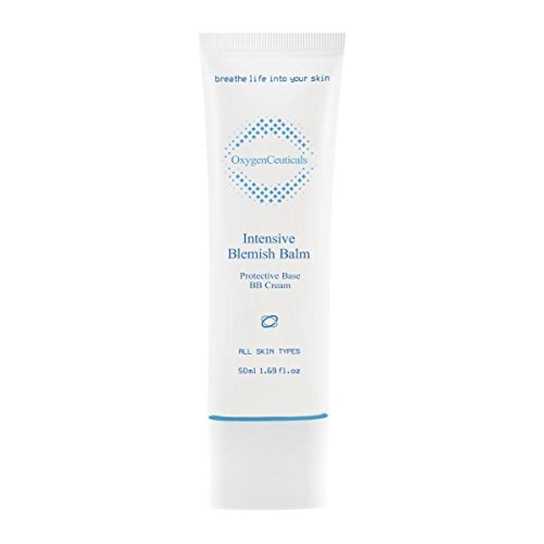 ベールバトル姉妹[ Oxygen Ceuticals ] オキシジェンシューティカルズ 酸素BBクリーム[再.生BB] 50ml. Intensive Blemish Balm(BB Cream) 50ml. X Mask Pack 1p.