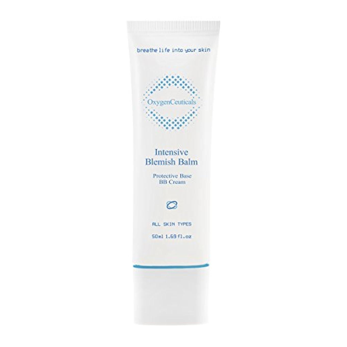 偏差傑作季節[ Oxygen Ceuticals ] オキシジェンシューティカルズ 酸素BBクリーム[再.生BB] 50ml. Intensive Blemish Balm(BB Cream) 50ml. X Mask Pack 1p.