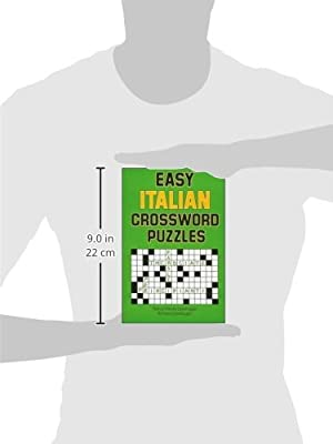 Easy Italian Crossword Puzzles (Language - Italian)