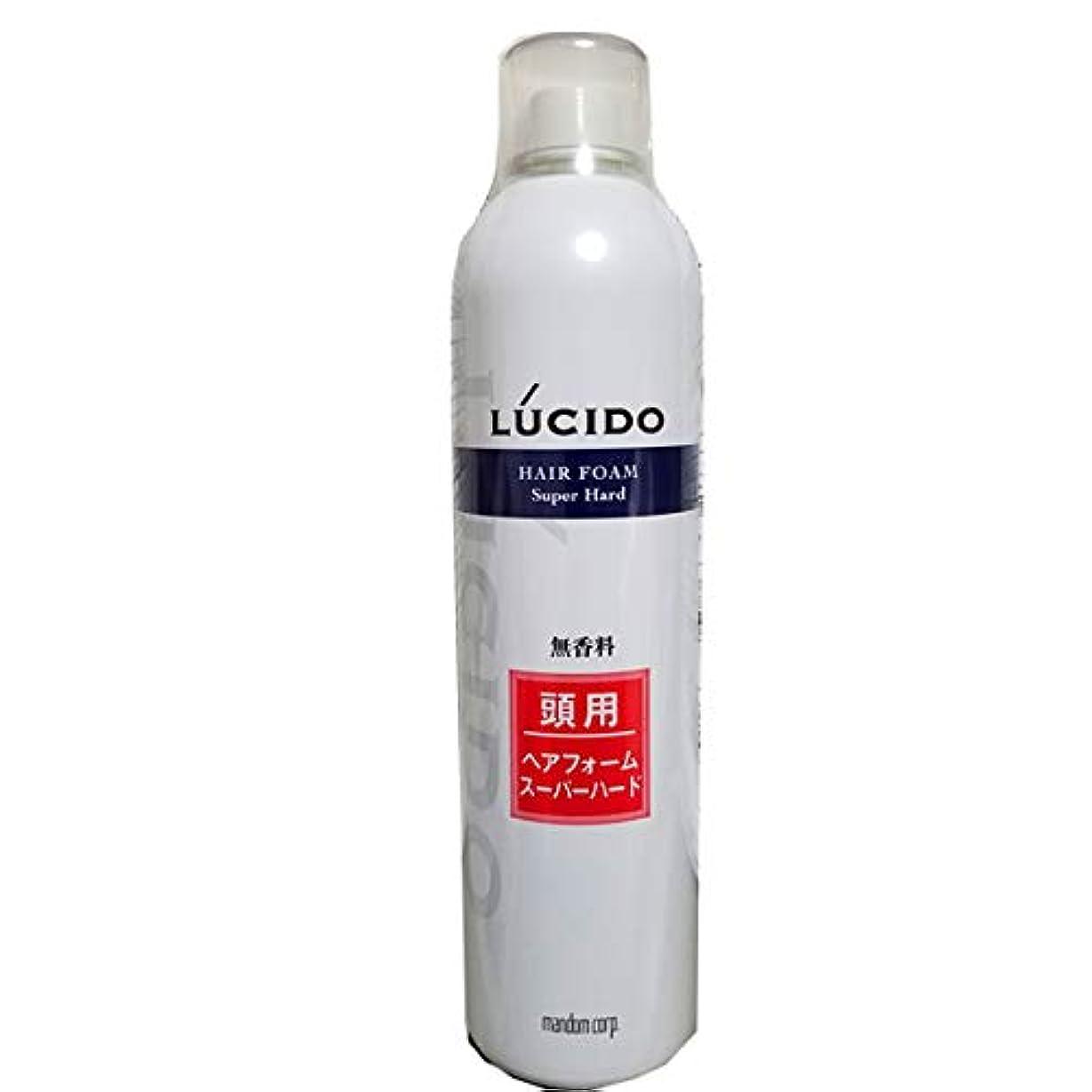ルーム量地理ルシード ヘアフォーム スーパーハードO 400g 業務用 40才からの髪に。 マンダム