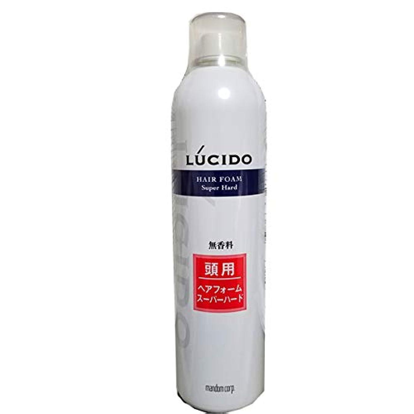 許可測定可能味方ルシード ヘアフォーム スーパーハードO 400g 業務用 40才からの髪に。 マンダム