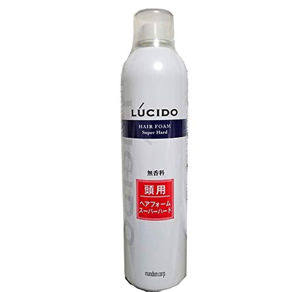 混合歪める冷笑するルシード ヘアフォーム スーパーハードO 400g 業務用 40才からの髪に。 マンダム