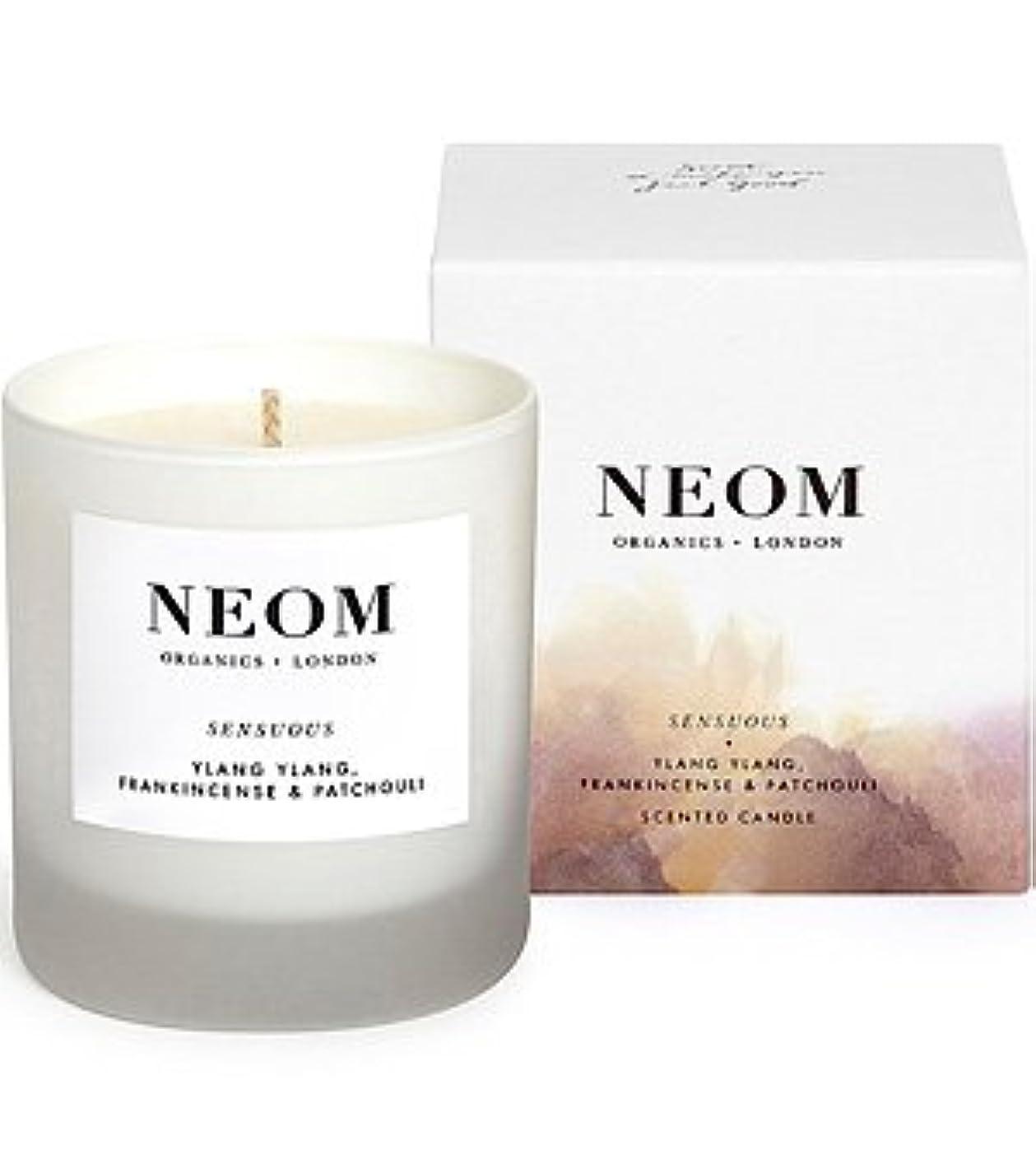 放射性郵便代数NEOM(ネオム) スタンダードキャンドル(Scented Candles (1 Wick)) センシュアス(Sensuous)