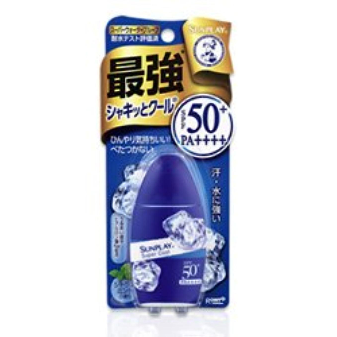 意見ミキサーヤギ【ロート製薬】メンソレータム サンプレイ スーパークール 30g ×5個セット