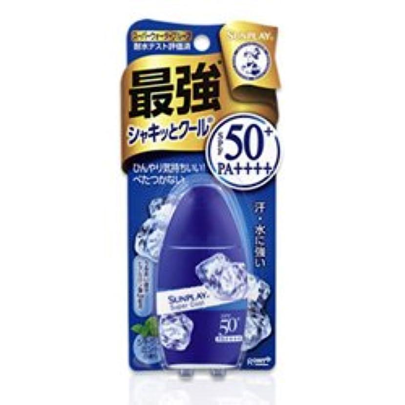 叫ぶ契約ボトル【ロート製薬】メンソレータム サンプレイ スーパークール 30g ×5個セット
