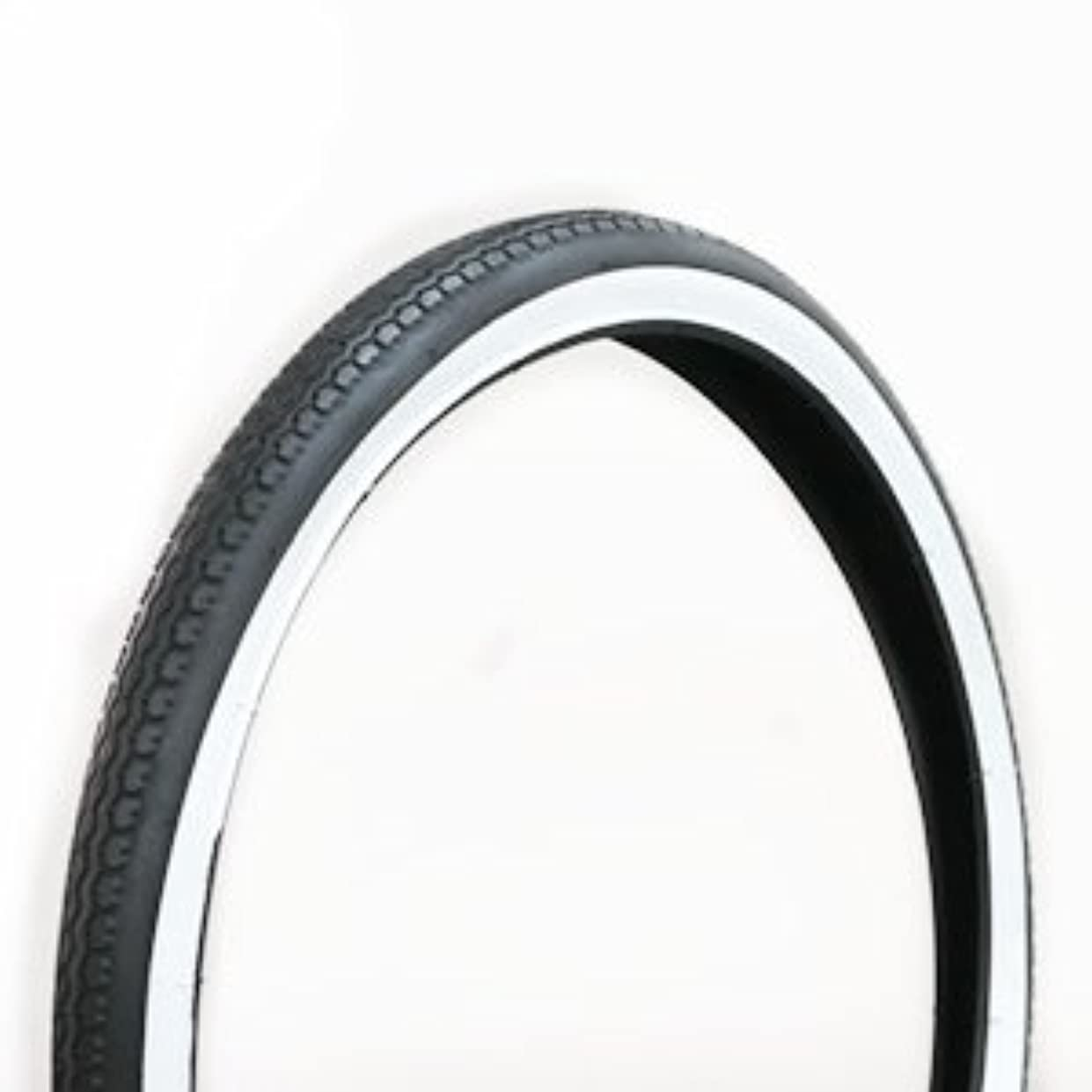 余計な寝具言語学自転車用タイヤ 白黒 22×1-3/4 W/O 1本 チューブは付属しません
