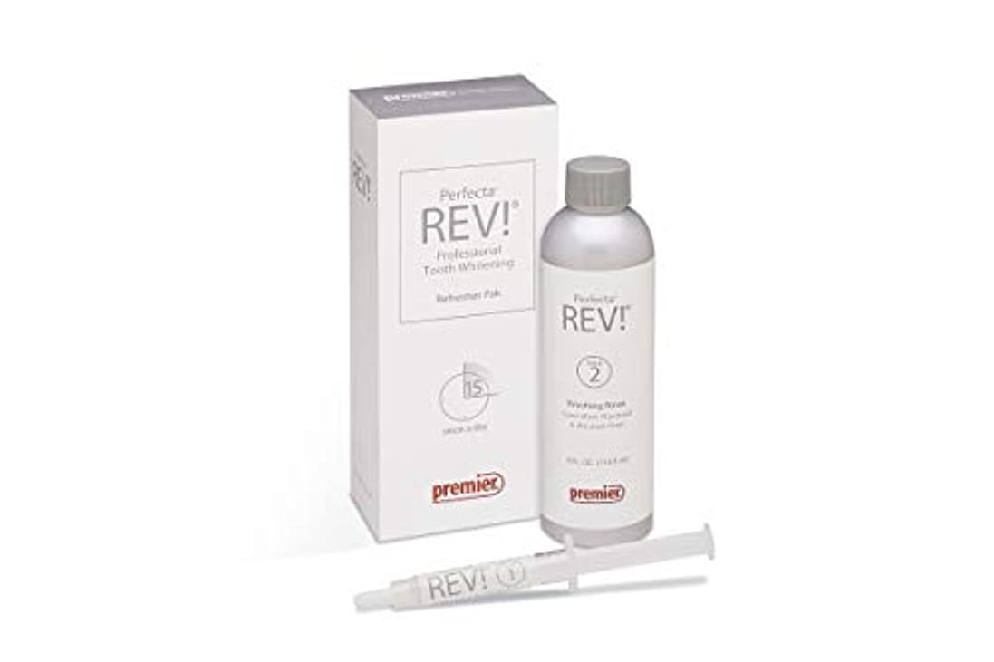 エンジニア古くなった軽食Premier Perfecta RevリフレッシャPak ( 4000141 ) 14 % Teeth Whitening Gel and Rinse Whitening Oral Care