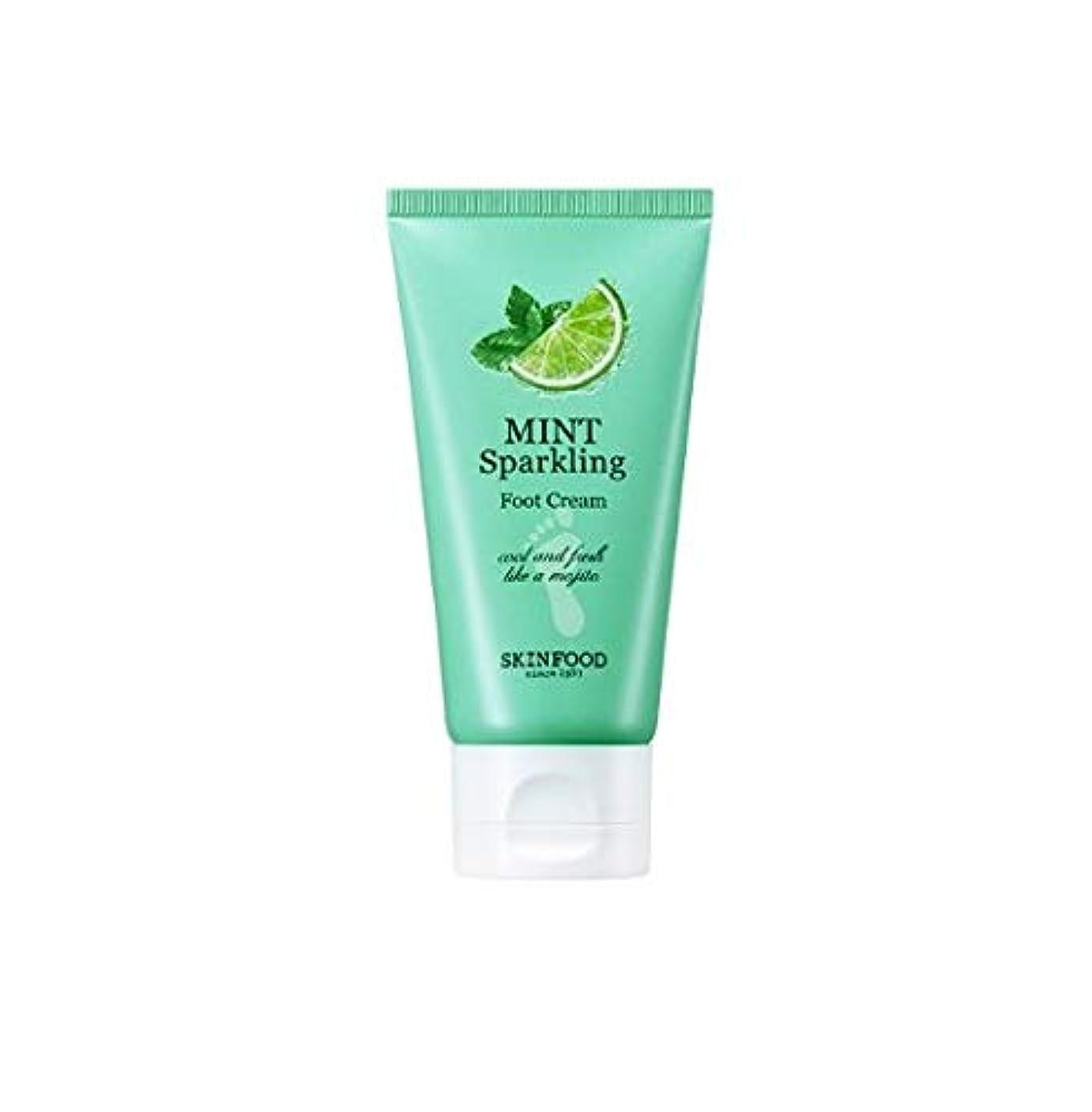 雄弁家性能寛大なSkinfood ミントスパークリングフットクリーム/Mint Sparkling Foot Cream 80ml [並行輸入品]