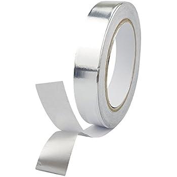 Dorjeey アルミ箔テープ 20mm幅 20m 熱伝導性,耐熱性,耐候性 アルミ箔