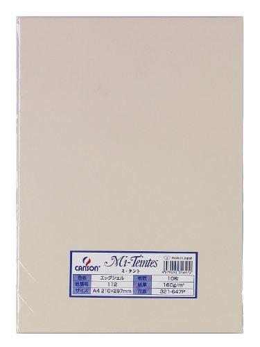 色画用紙 ミタント 321-647P A4 10枚