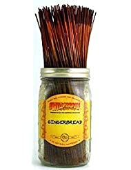 Gingerbread - 100 Wildberry Incense Sticks [並行輸入品]