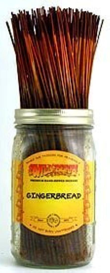 アセンブリかすれた処理Gingerbread - 100 Wildberry Incense Sticks [並行輸入品]