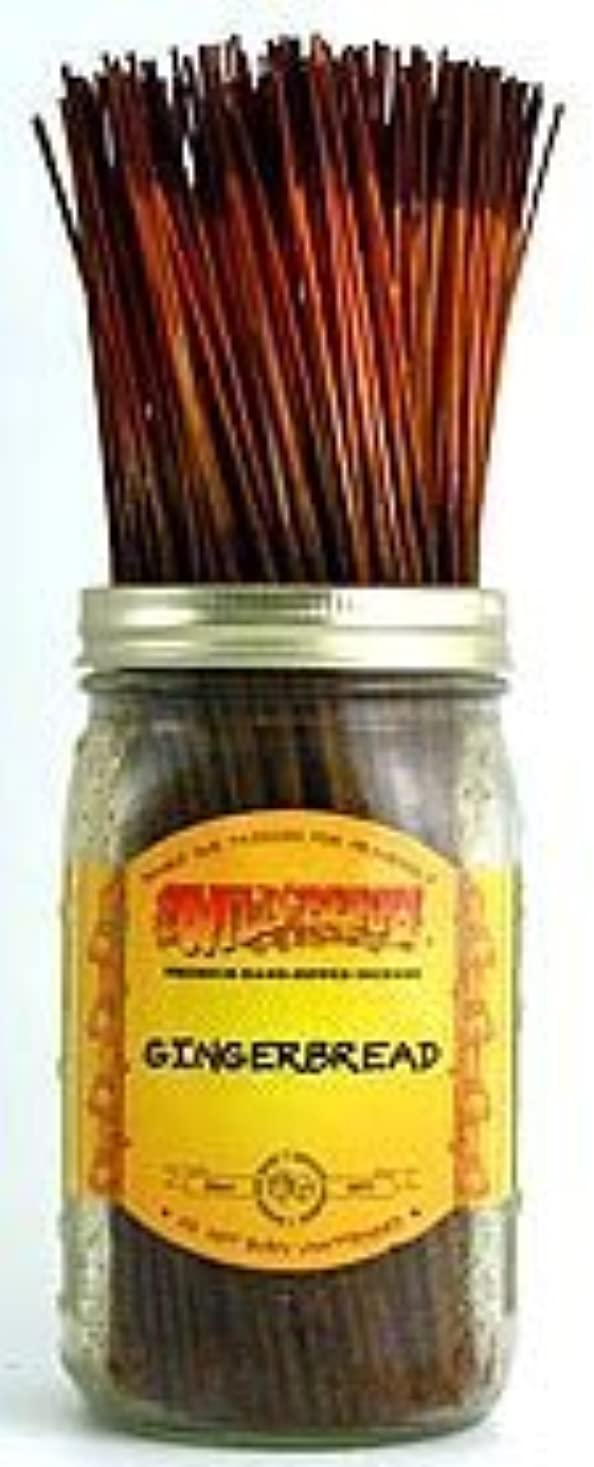 る安価な怒るGingerbread - 100 Wildberry Incense Sticks [並行輸入品]