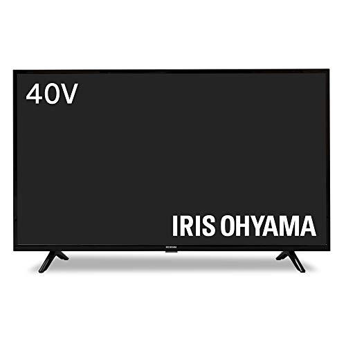 アイリスオーヤマ 40V型 液晶テレビ ハイビジョン ダブルチューナー内蔵 外付HDD対応(裏番組録画対応) 40FB10P