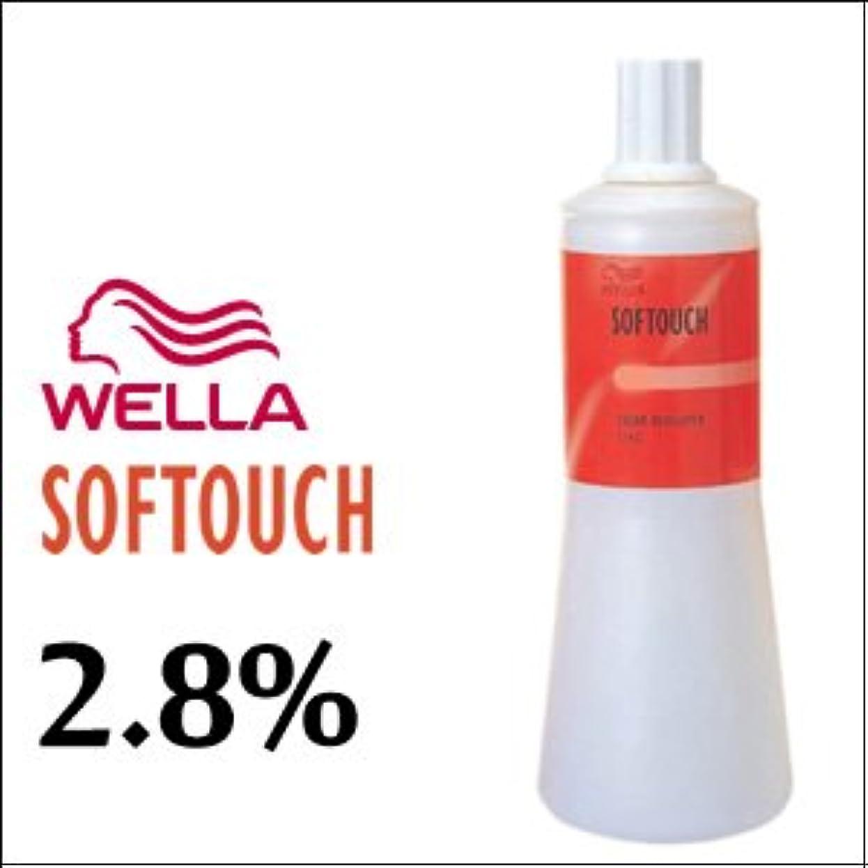 儀式軍艦少ないウエラ ヘアカラー ソフタッチ クリームディベロッパー 2.8% 1L