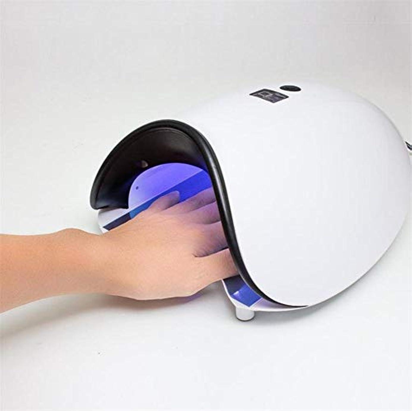 一次意気揚々レーニン主義自動紫外線センサー、5s/30s/60sタイマーおよびLCD表示が付いているGelpolishbuilderのためのLED紫外線釘Lamp48Wpr Professionalの釘のドライヤー