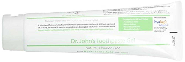 昆虫を見る空虚無数のHyalogic, Dr. John's Toothpaste Gel w/HA 4.58 oz