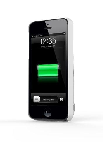 【国内正規品】【アップル認証】MiLi Power Spring 5 iPhone5S/5用バッテリーケース 2200mAh HI-C25 ホワイト