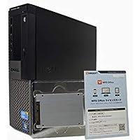 デスクトップパソコン 【OFFICE搭載】 SSD 240GB (新品換装) DELL OptiPlex 980 スモールフォームファクタ(SFF) Core i7 870 /16GB/240GB/DVDROMドライブ/グラフィック ATI RADEON HD 3450/Windows 7