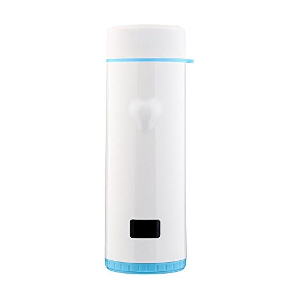 雑品シェルター処方Okiiting ステンレス鋼インテリジェントマグ360ミリリットルカップ自動温度制御ディスプレイ温度高温耐性ポータブルカップ品質保証 うまく設計された (色 : 青)