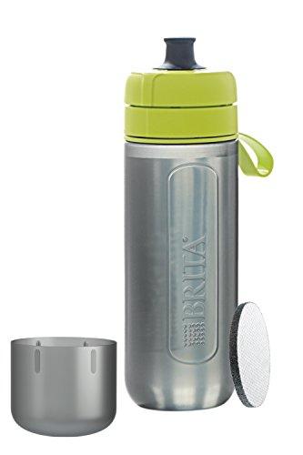 水筒 直飲み 600ml 携帯用 浄水器 ボトル カートリッジ 1個 フィル&ゴー アクティブ ライム BRITA (ブリタ) BRITA(ブリタ) BJ-GALI