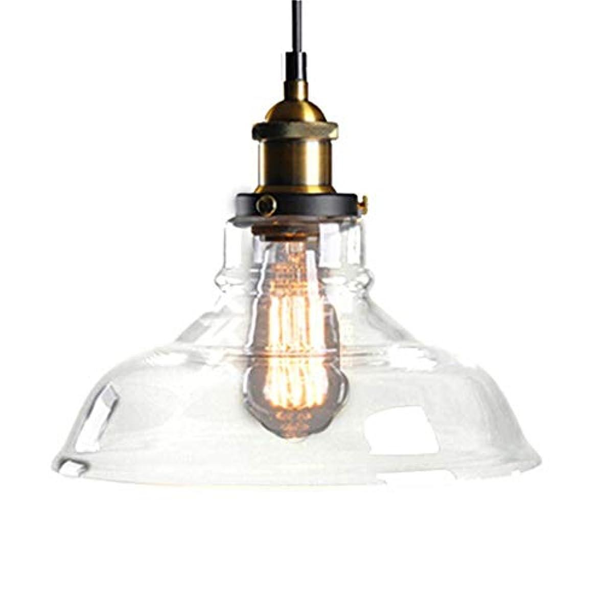 等価おそらく戻す北ヨーロッパおよびアメリカ様式の農村産業風の創造的な単一のヘッドガラスランプシェード