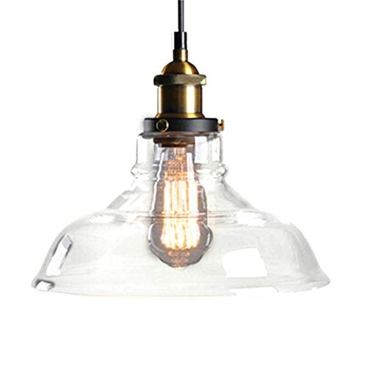 心のこもった自信があるが欲しい北ヨーロッパおよびアメリカ様式の農村産業風の創造的な単一のヘッドガラスランプシェード