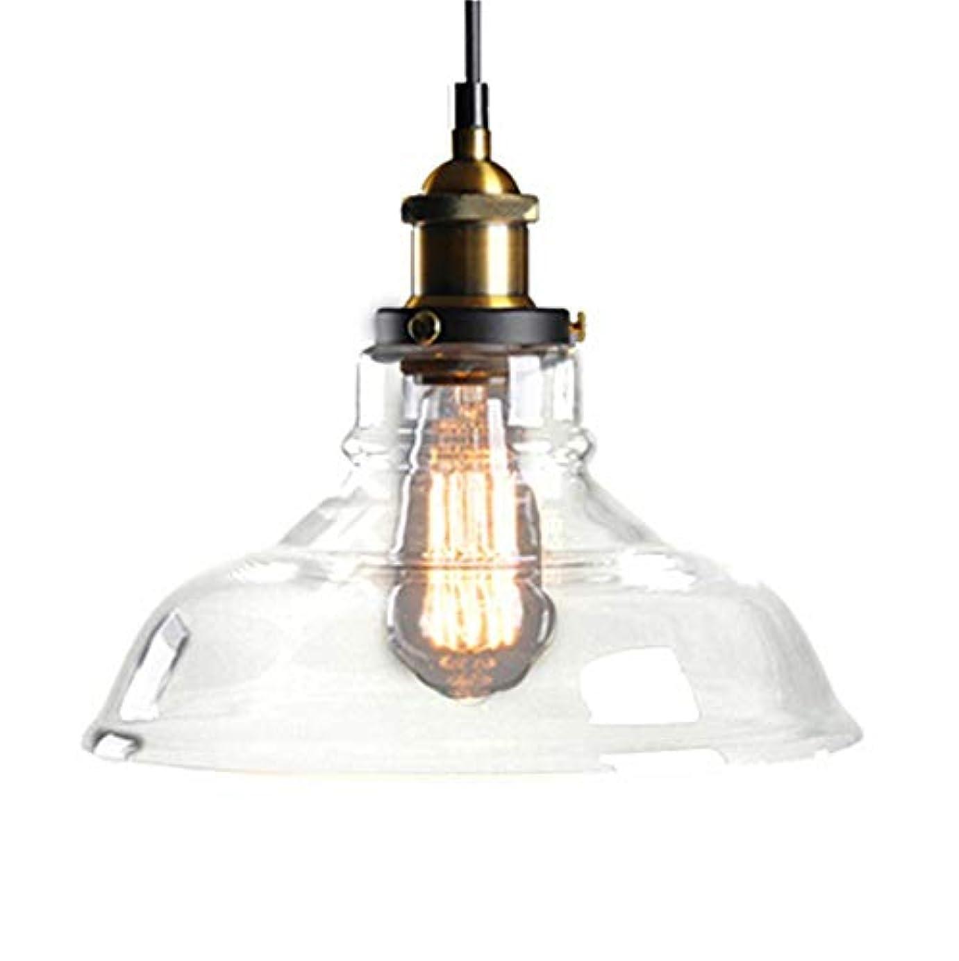 急性シェルター形容詞北ヨーロッパおよびアメリカ様式の農村産業風の創造的な単一のヘッドガラスランプシェード