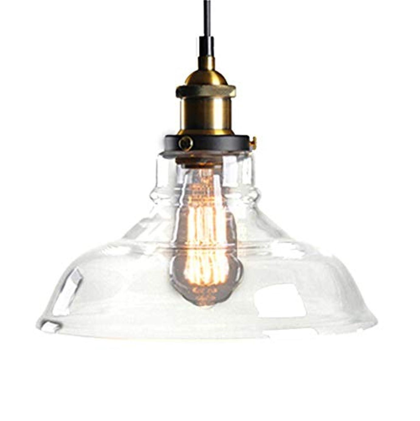 すき貴重な一掃する北ヨーロッパおよびアメリカ様式の農村産業風の創造的な単一のヘッドガラスランプシェード