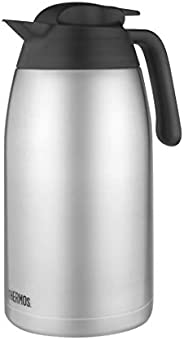 Thermos Stainless Steel Vacuum Insulated Carafe, 2L, Stainless Steel, THV2000AUS
