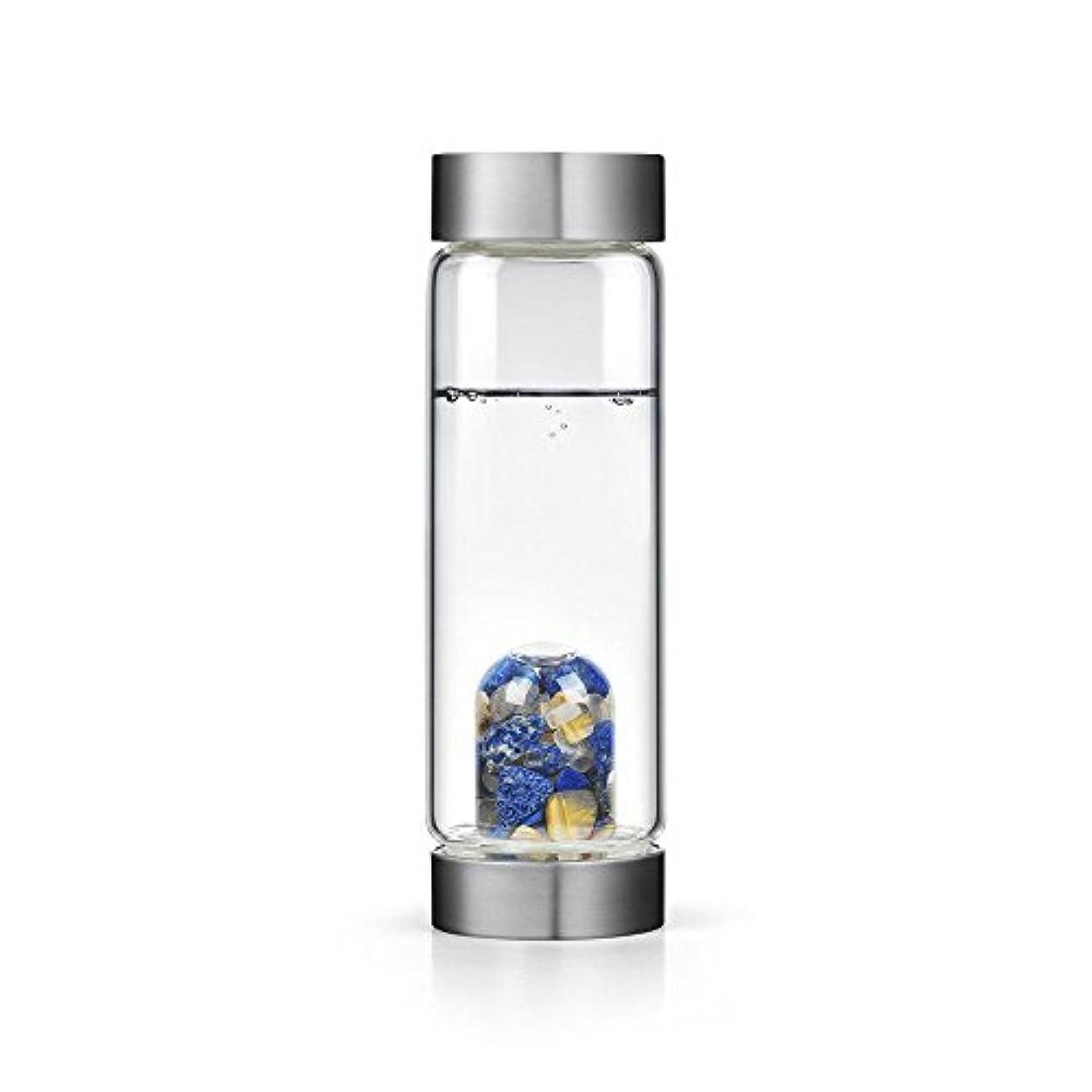 調停者生き残り気味の悪いインスピレーションgem-waterボトルby VitaJuwel W / Freeカリフォルニアホワイトセージバンドル 16.9 fl oz
