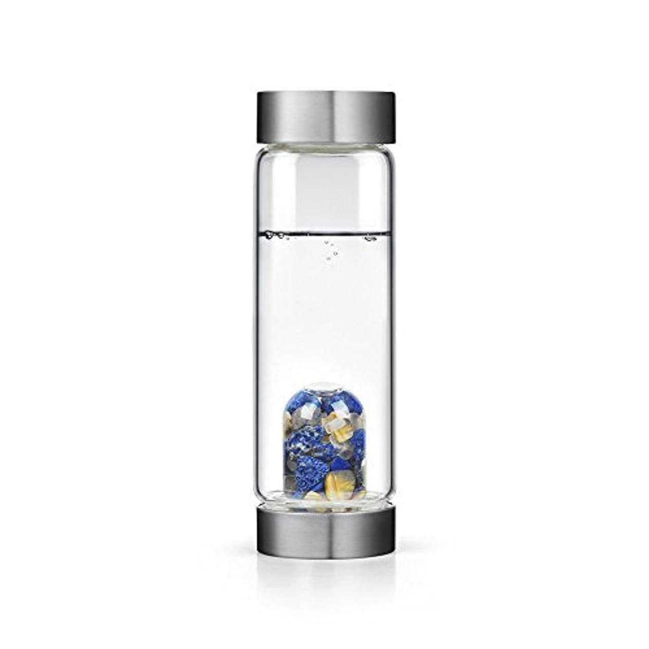 安定した涙が出るホステスインスピレーションgem-waterボトルby VitaJuwel W / Freeカリフォルニアホワイトセージバンドル 16.9 fl oz
