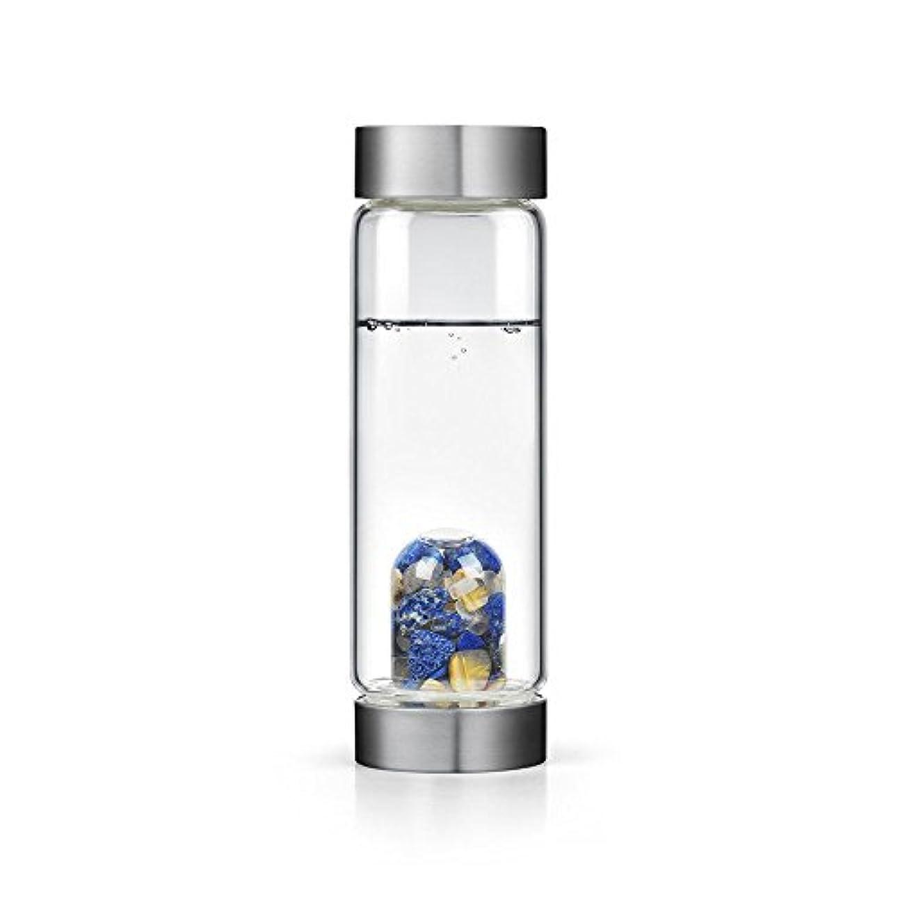 降下親密なロープインスピレーションgem-waterボトルby VitaJuwel W / Freeカリフォルニアホワイトセージバンドル 16.9 fl oz