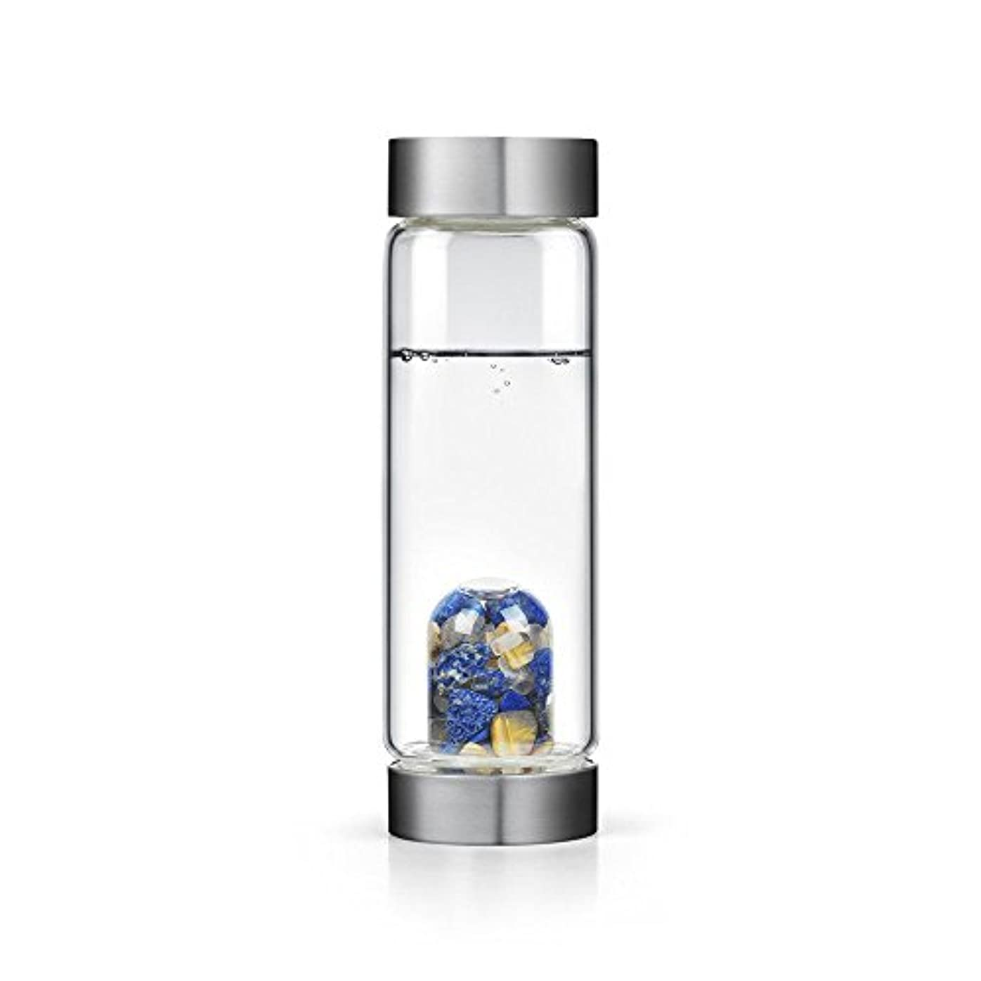 インスピレーションgem-waterボトルby VitaJuwel W / Freeカリフォルニアホワイトセージバンドル 16.9 fl oz